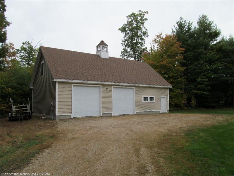 Barn Garage Addition : Garage addition southern maine custom
