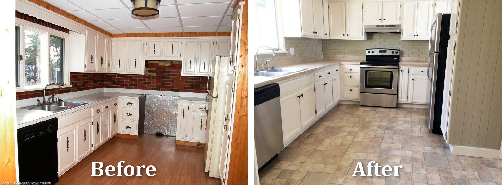 Remodel Galley Kitchen Before After galley kitchen remodel back entry before and after kenwood
