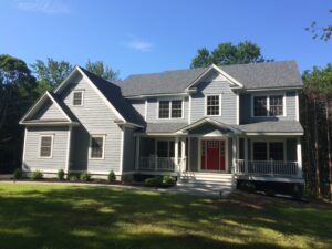 Completed projects built by adams for Southern maine home builders