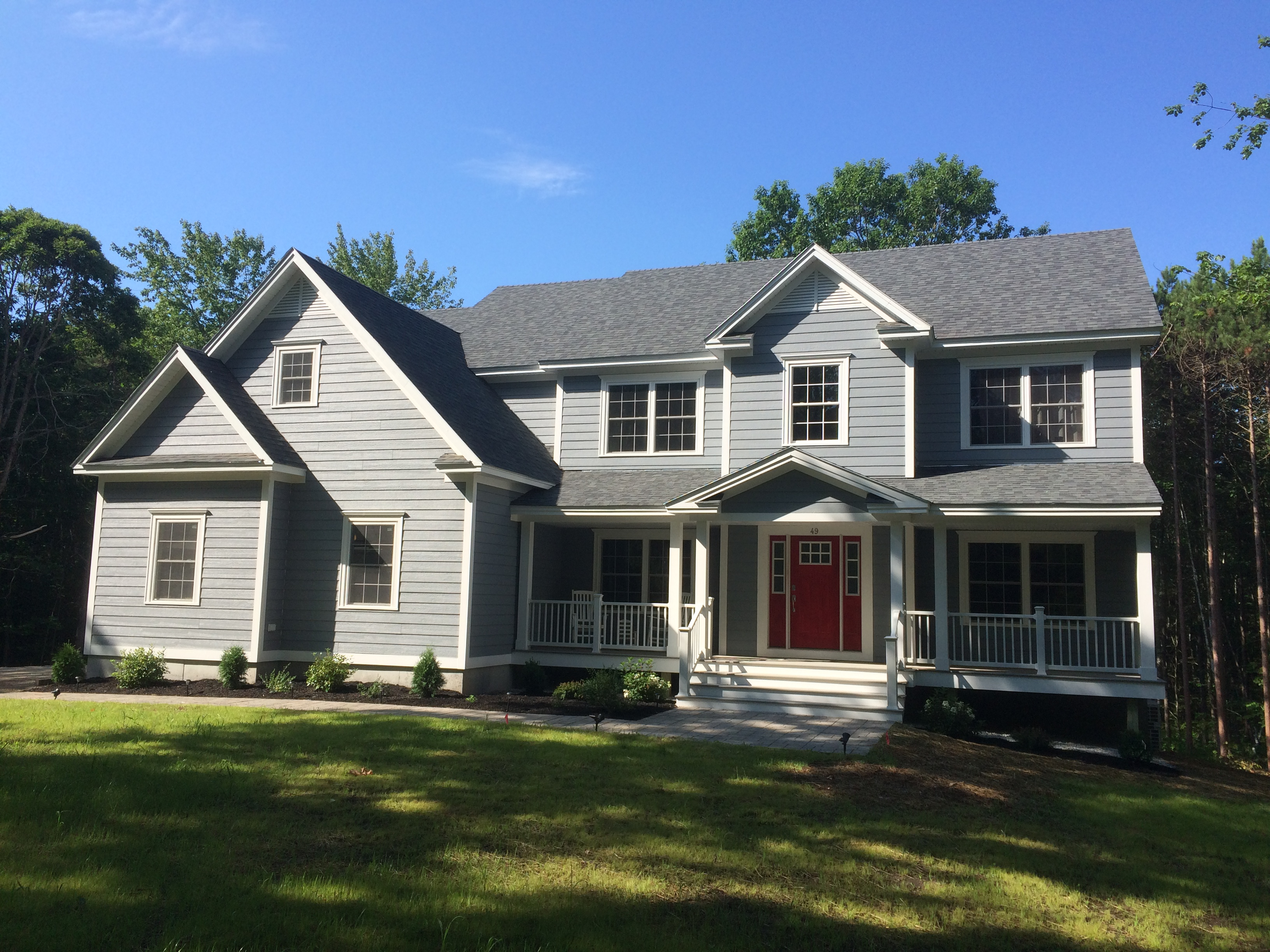 Built by adams southern maine custom homes abenaki for Southern custom homes