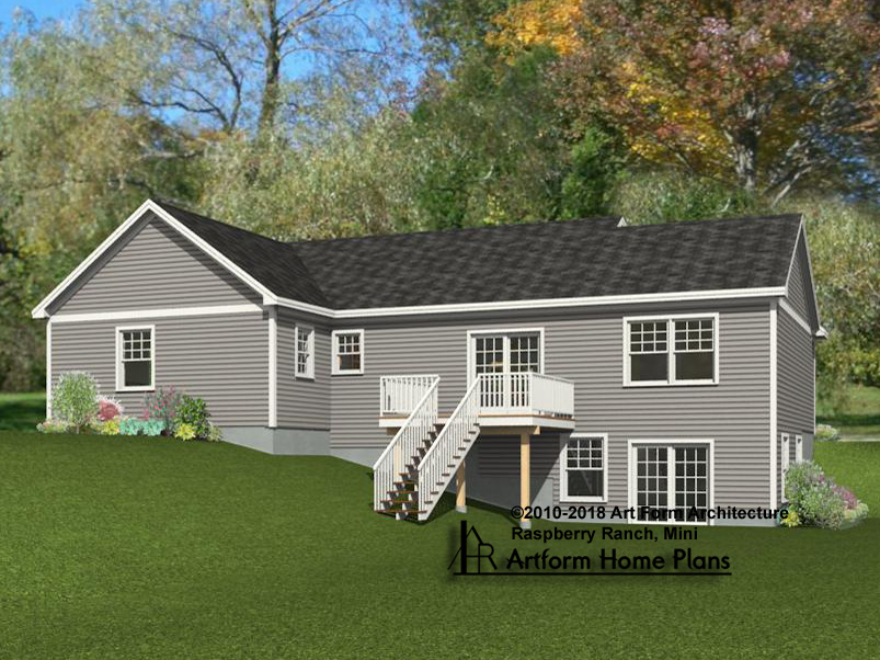 Ranch Home Plans Built By Adams
