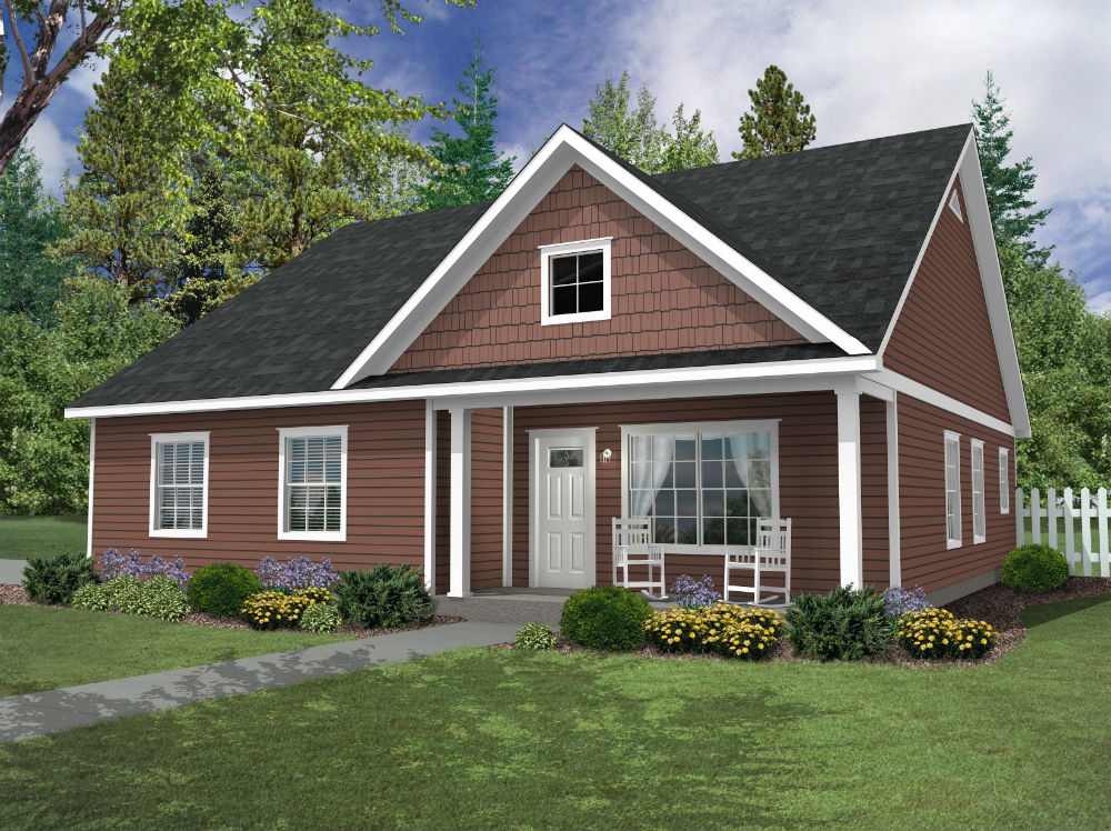 Custom Home for Sale in Eagles Trace 55+ Community Acton, Maine