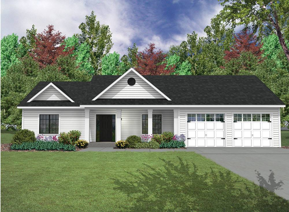 Ranch Home Plans - Built By Adams on 2 story ranch home plans, open floor plan ranch home plans, single level ranch home plans, daylight basement ranch home plans, 3 car garage log home, 3 bedroom ranch home plans,