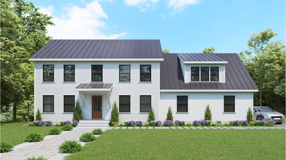 BBA Colonial Modern Farmhouse